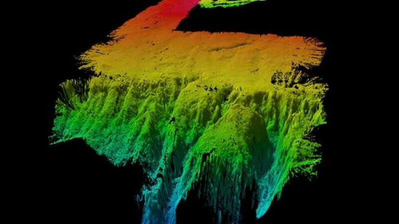 Doua insule cat jumatate din Romania, descoperite pe fundul oceanului