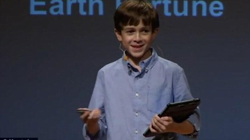 "Geniu in tehnologie. Are propria companie, la doar 12 ani: ""Steve Jobs m-a inspirat"" VIDEO"