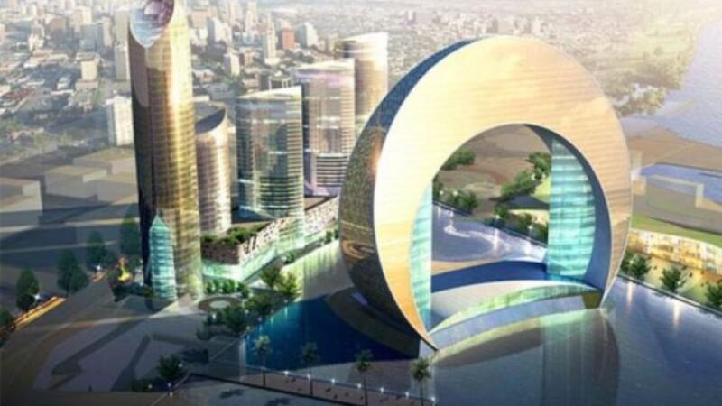 Semiluna infipta in mare. Proiectul arhitectural revolutionar care va lua fata Dubaiului