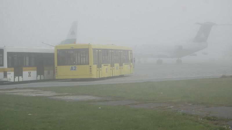 """Mai multe zboruri de pe Aeroportul International """"Avram Iancu"""" din Cluj-Napoca au fost amanate"""