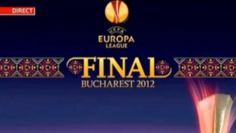 S-a lansat logo-ul pentru Europa League 2012. Finala cupei europene va fi difuzata de Pro TV
