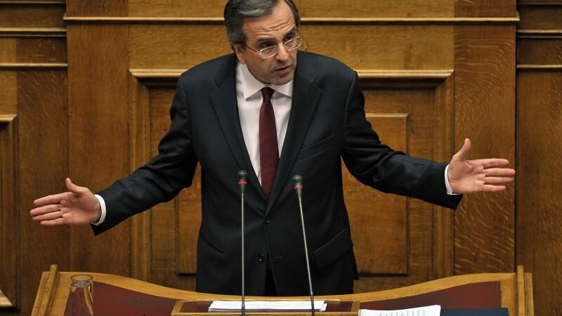 Premierul Antonis Samaras
