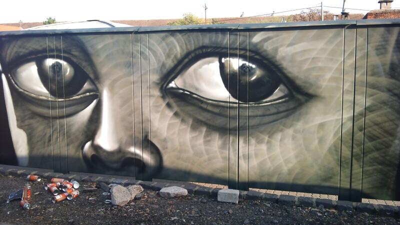 grafitti ochi