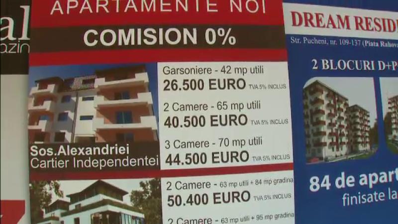 Boom-ul imobiliar din 2008, la polul opus. O garsoniera care costa 60.000 EUR se vinde cu 30.000