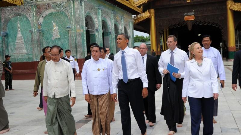 Barack Obama in Myanmar