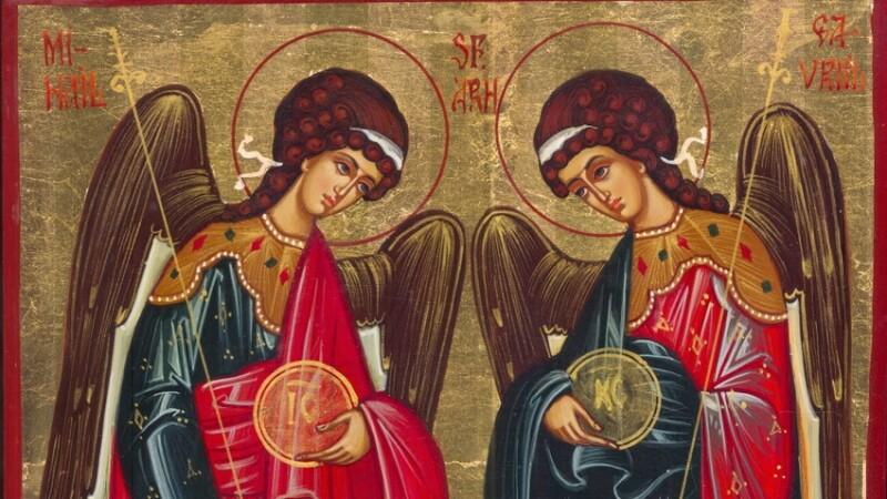 Sfintii MIHAIL si GAVRIIL: Peste 1,3 milioane de romani isi sarbatoresc ziua numelui