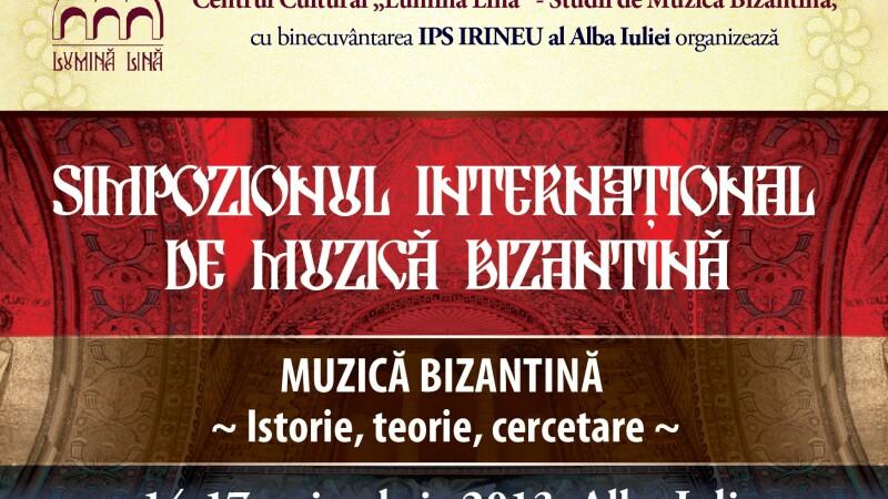 Simpozion international de muzica bizantina la Alba Iulia