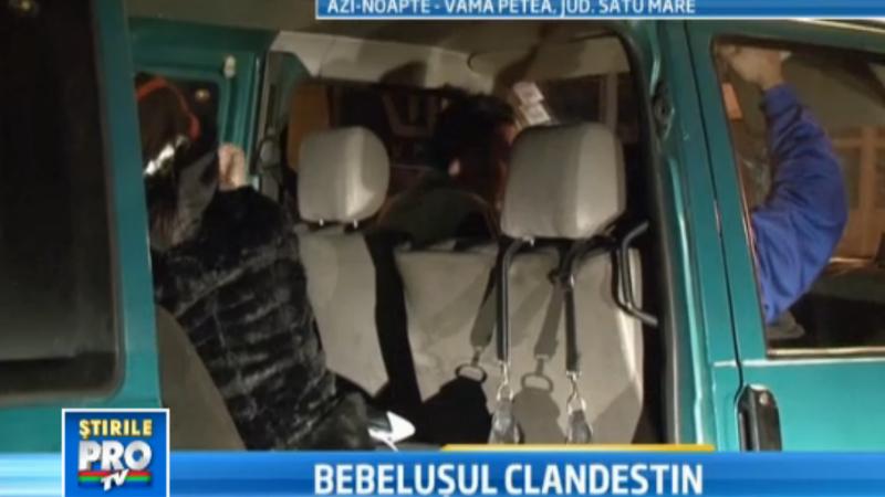 bebelus clandestin, politie de frontiera