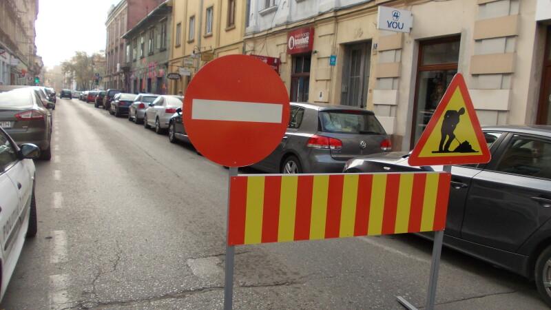 Atentie soferi, traficul din centrul Timisoarei este paralizat! Restrictiile au intrat in vigoare