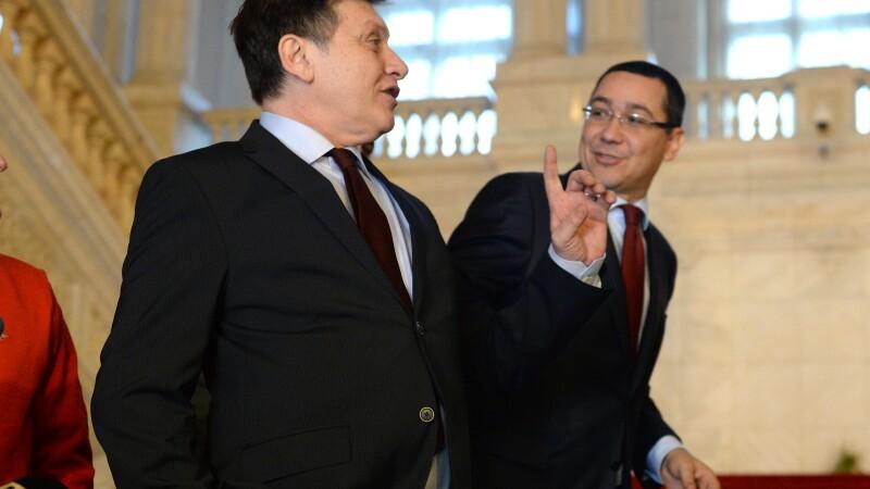 Crin Antonescu, Victor Ponta