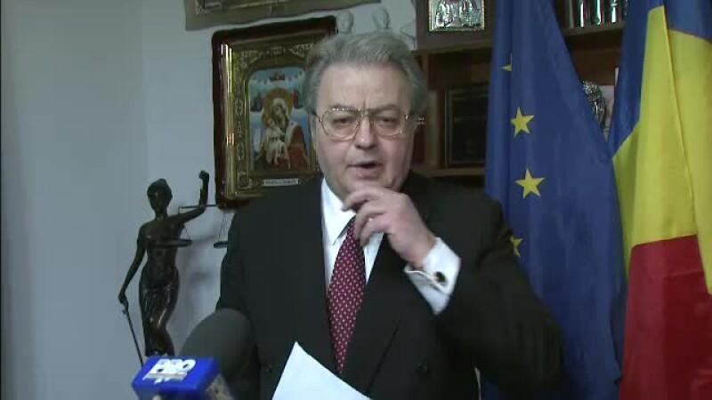 Corneliu Vadim Tudor, la Parchetul ICCJ: Ma convoaca drept invinuit fara sa spuna de ce