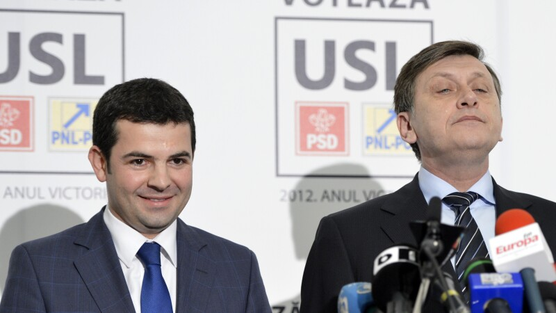 Crin Antonescu, Daniel Constantin