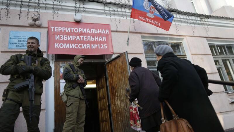 Ucraina denunta o mobilizare