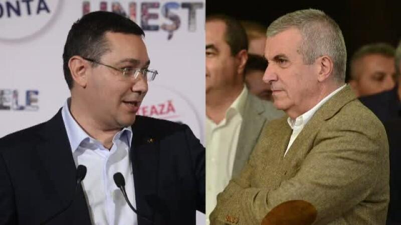 Victor Ponta, Calin Popescu Tariceanu