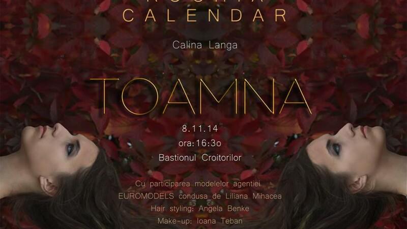 Designerul clujean Calina Ghitulescu Langa prezina in weekend Rochia Calendar–Toamna