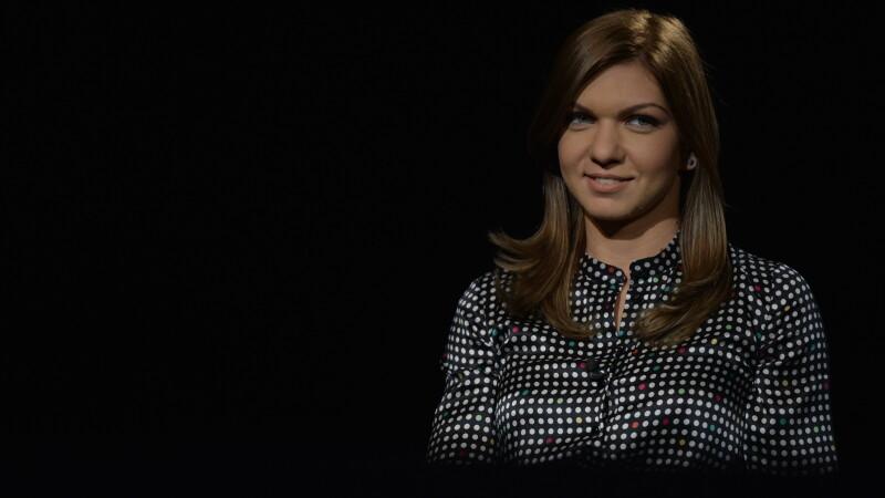 Simona Halep la