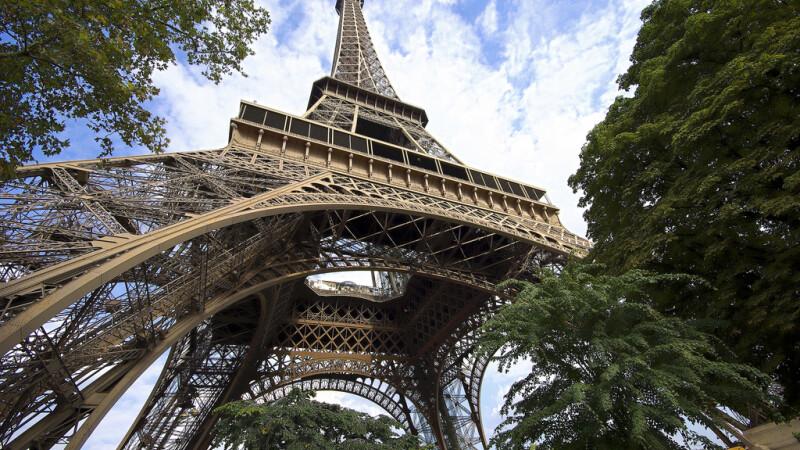 turnul Eiffel HDR