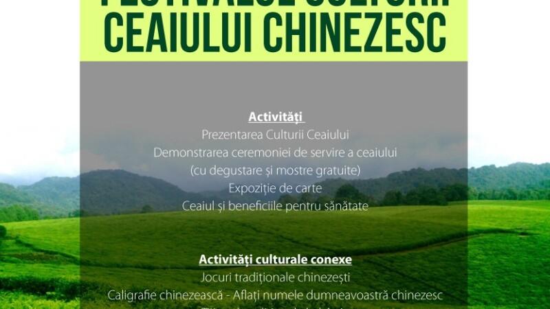Festivalul Culturii Ceaiului Chinezesc, gazduit la UBB