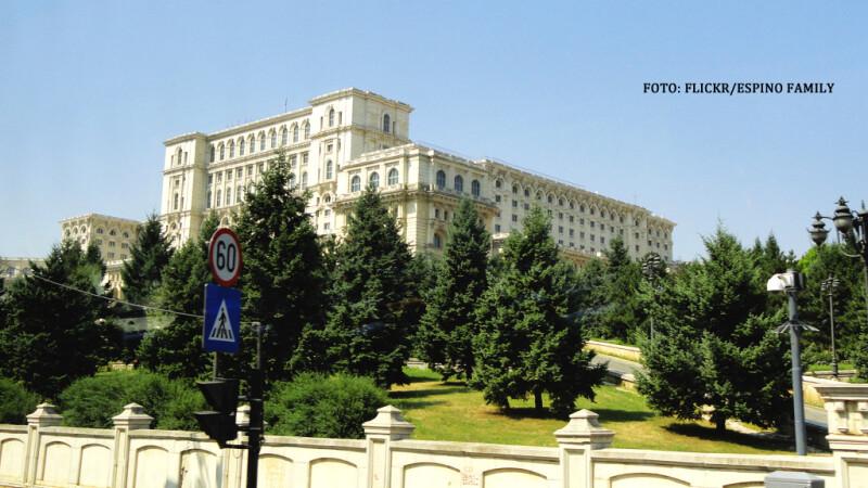 Palatul parlamentului gard