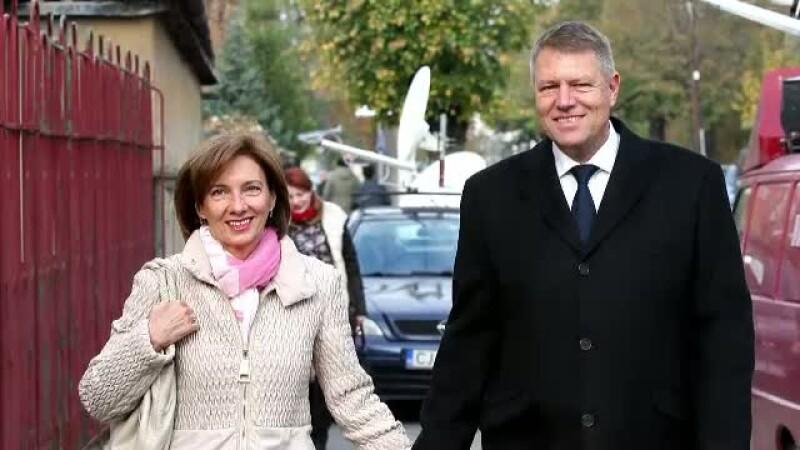 Klaus Iohannis si Carmen Iohannis