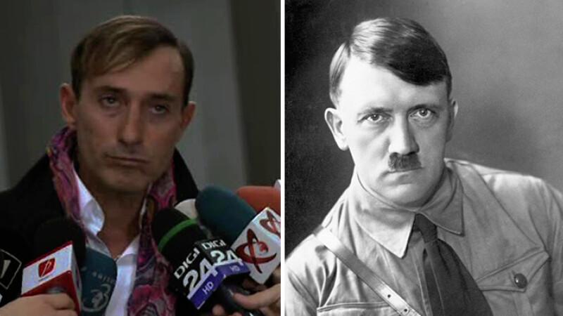 Radu MAzare si Hitler