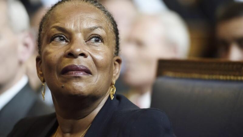 Ministrul francez al Justitiei, Christiane Taubira