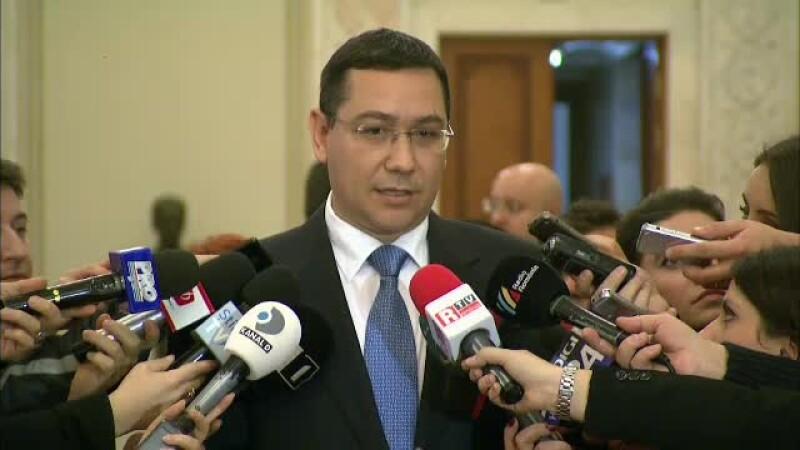 Victor Ponta: E important sa nu ramanem cu sistemul actual de alegeri
