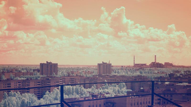 Pripeat - Cernobal pozat cu camera IR