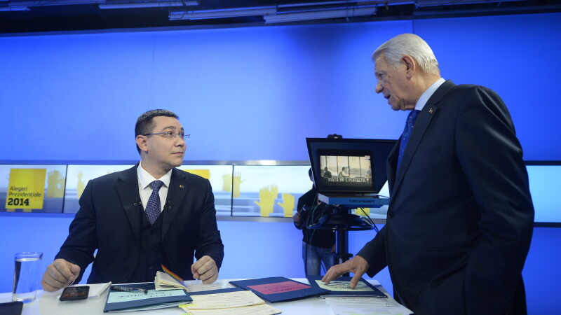 Victor Ponta si Teodor Melescanu