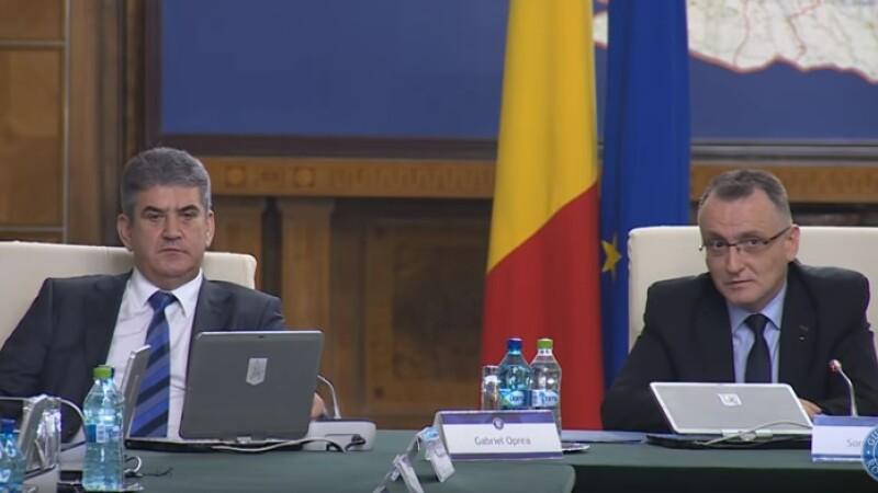 Gabriel Oprea, Sorin Cimpeanu