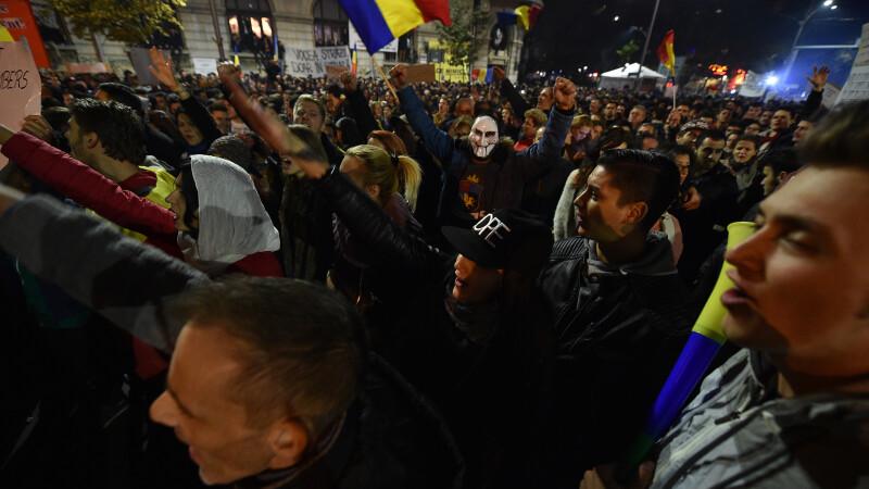 protest Bucuresti - Agerpres
