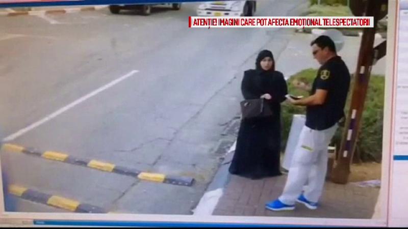 Atacuri pe strada in Israel. Momentul in care o femeie palestiniana incearca sa injunghie un agent de securitate israelian