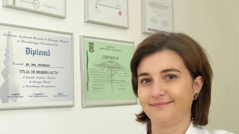 Medicul Ina Petrescu