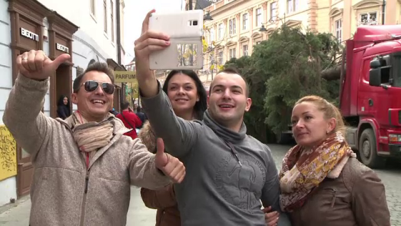 selfie brad sibiu