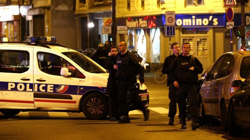 Scene de apocalipsa in Paris: \