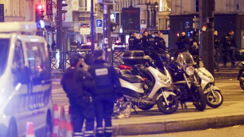 atentate Paris - agerpres