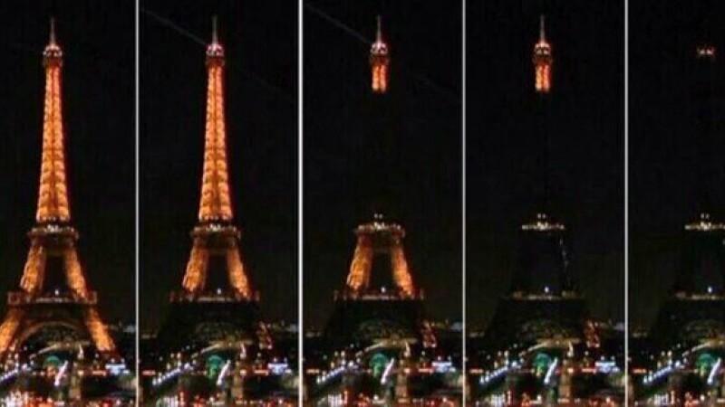 Turnul Eiffel - Twitter