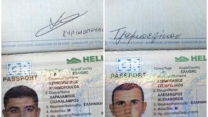 Sase sirieni cu pasapoarte grecesti furate si falsificate, arestati in America Centrala. Barbatii erau in drum spre SUA