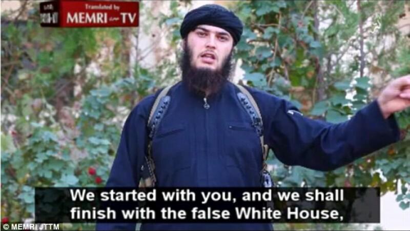 Statul Islamic ameninta Casa Alba si Roma cu atacuri cu bomba: \