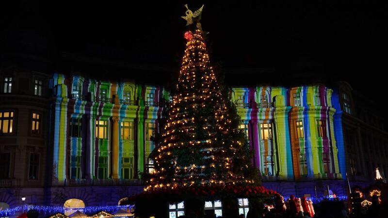 luminite de Craciun, Bucuresti