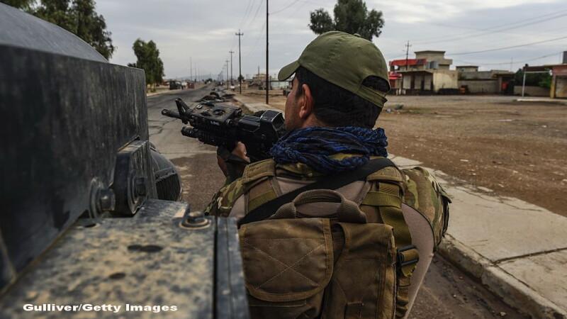 Jurnalul unui corespondent CNN de razboi, in timpul atacului irakian asupra orasului Mosul, ocupat de Statul Islamic