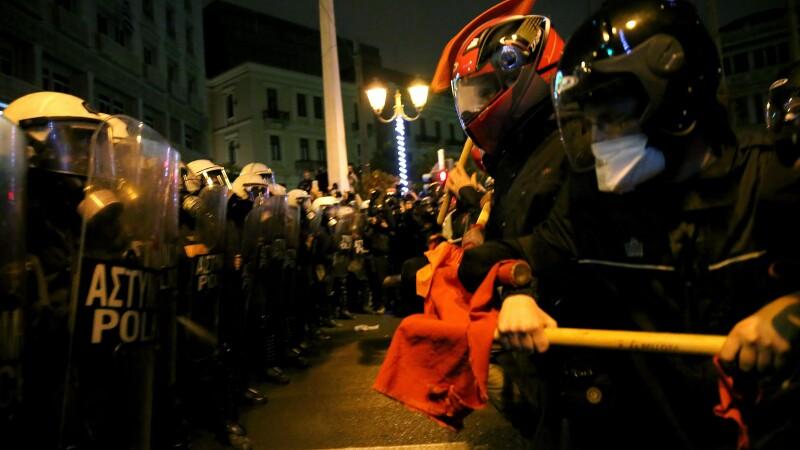 proteste Grecia -Agerpres