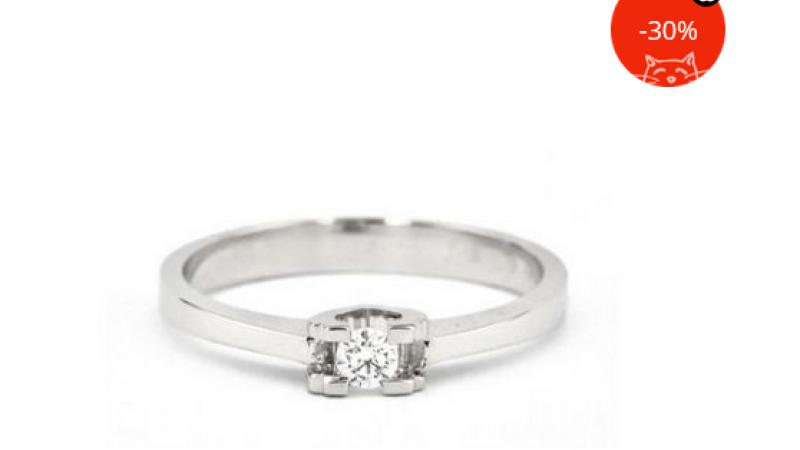 inel cu diamant emag