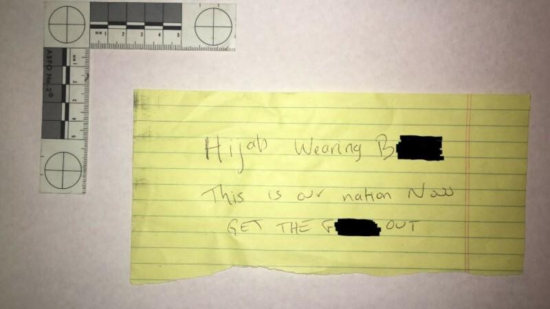 I-au spart masina si i-au lasat un mesaj de amenintare. De ce au crezut atacatorii ca femeia este musulmana