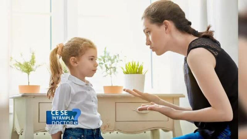 Discutie parinte copil
