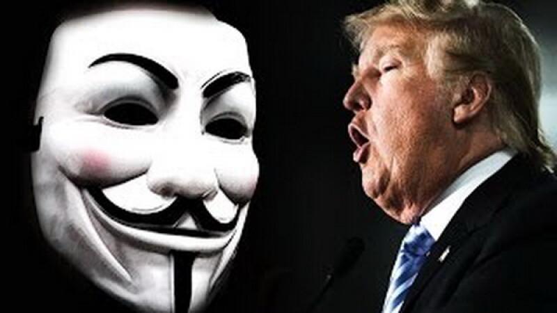 Hackerii de la Anonymous il ameninta pe Donald Trump: