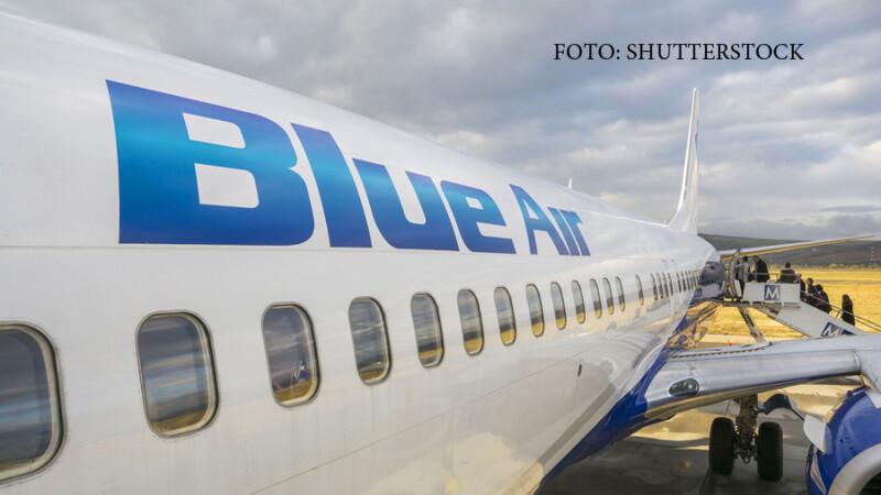 avion pe aeroportul din CLuj