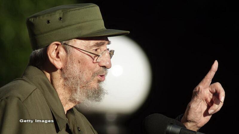 Fidel Castro - getty
