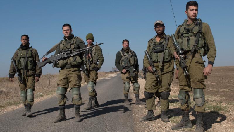 Raid israelian asupra Platoului Golan din Siria, dupa un atac al Statului Islamic. Jihadistii au fost ucisi