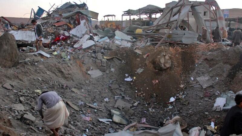 Atac aerian în Yemen